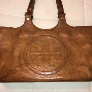 Tory Burch brown leather purse ✨